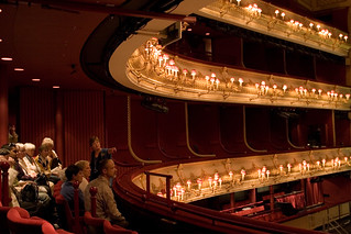 Visitors see the auditorium on a tour of the Royal Opera House © Pete Le May/ROH 2012 | by Royal Opera House Covent Garden