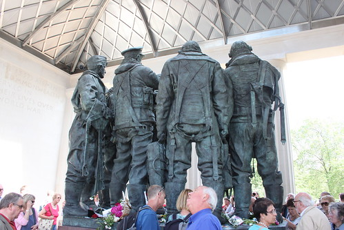 Bomber Command Memorial From Behind | by RobSpalding