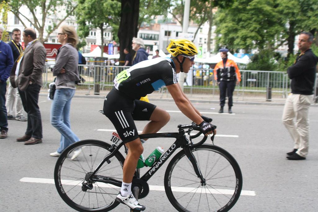 Richie porte team sky tour de france 2012 etape 1 for Richie porte team sky