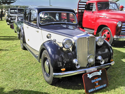 1949 Rover 75 Sedan | by Five Starr Photos ( Aussiefordadverts)