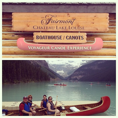 Canoe adventure! #travel #canada #lakelouise | by Briel79