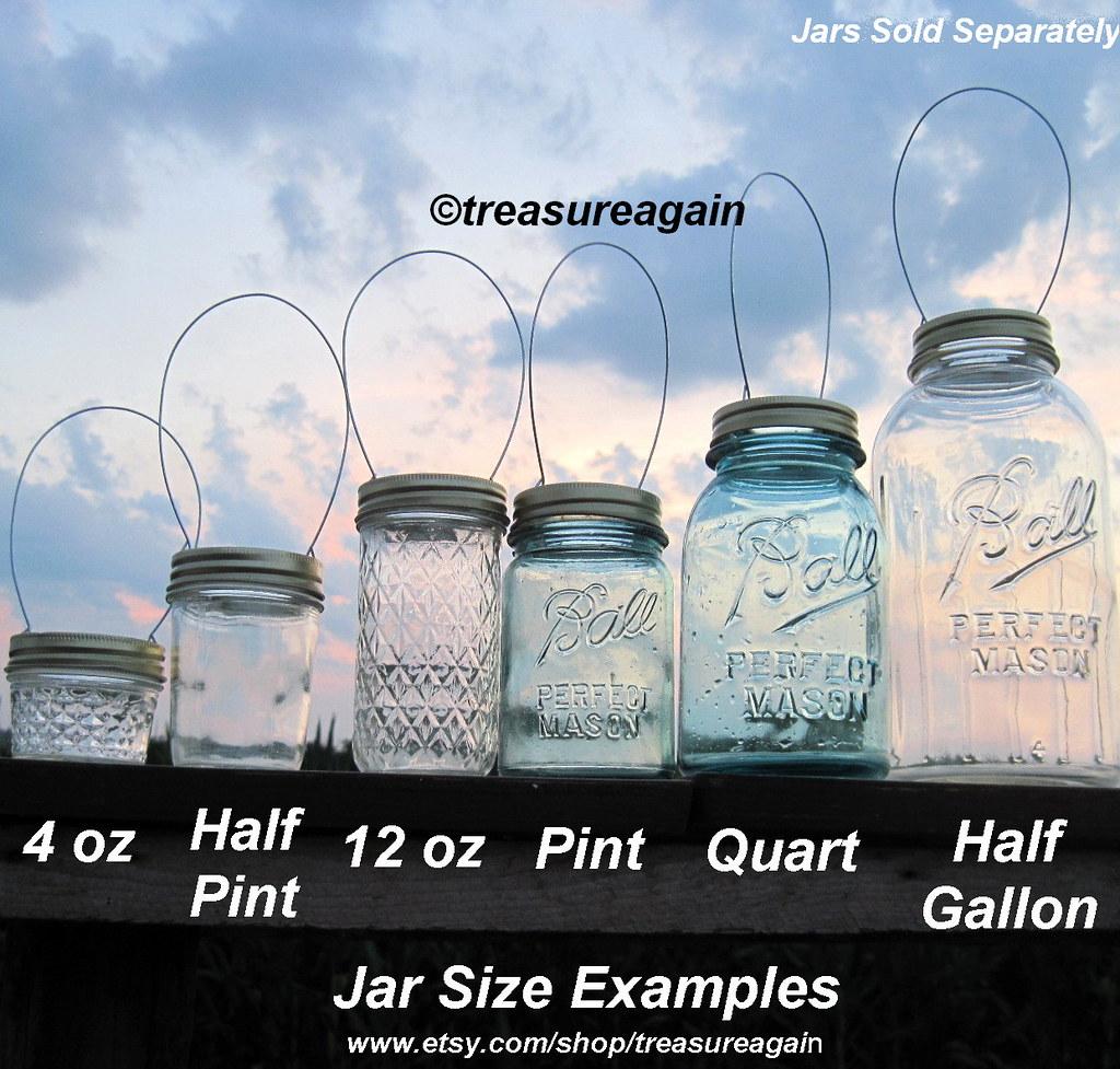 jar size compatibility for diy mason jar lanterns lids. Black Bedroom Furniture Sets. Home Design Ideas