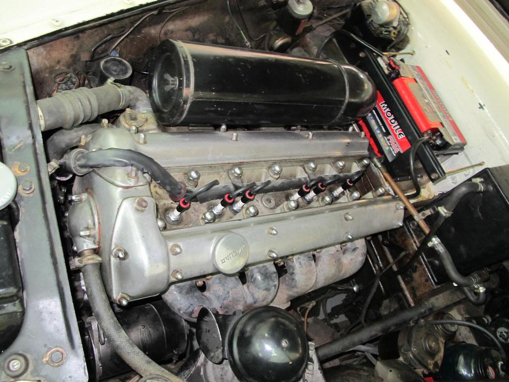 Jag Mk VII engine bay | Byron's 1953 Jaguar Mk VII, engine ...