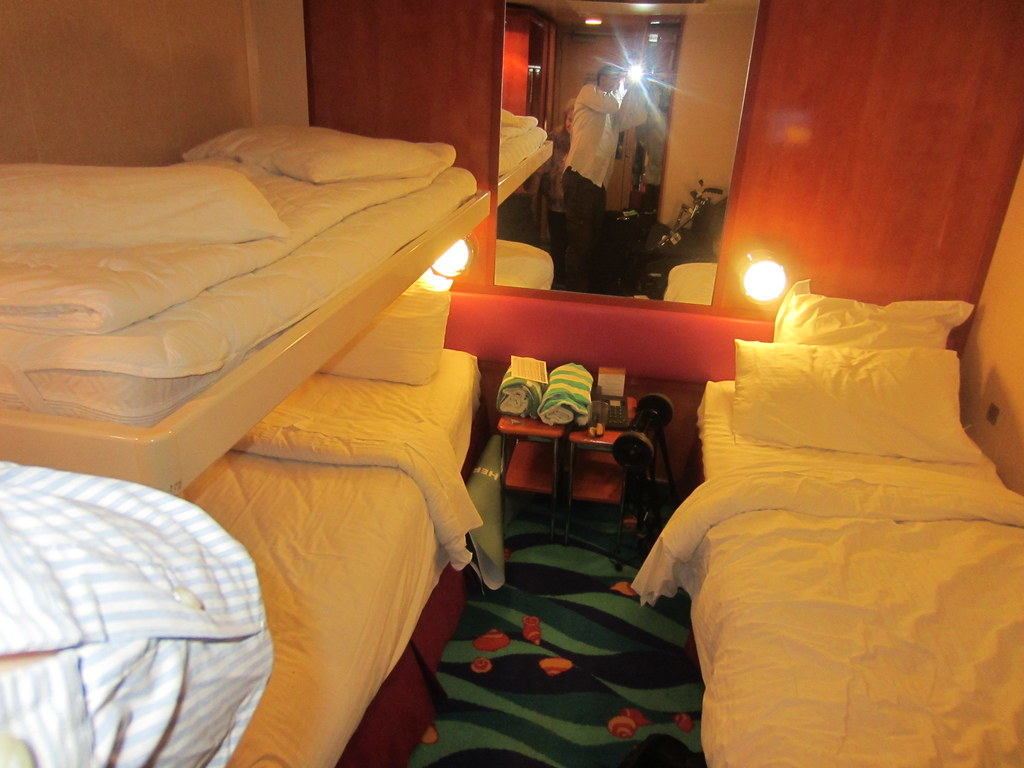 Bunk Bed In Norwegian Gem Cruise Ship Stateroom 11133 Flickr