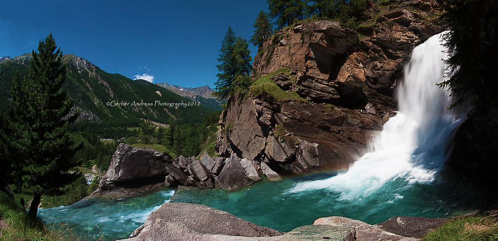 Lillaz Waterfalls Aosta Italy Cascate Di Lillaz Aosta Flickr