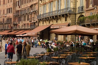 Cafes In Piazza Del Campo | by RyanTaylor1986
