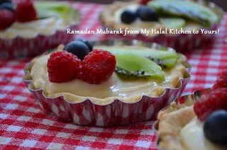 Fruit Tarts with Lemon Cream Filling- ramadan greeting | by myhalalkitchen2