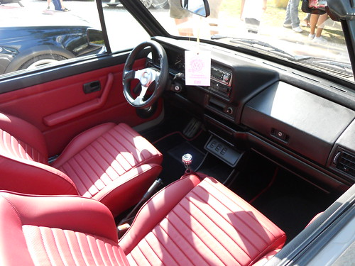 volkswagen golf mk1 cabriolet interior comments are welc flickr. Black Bedroom Furniture Sets. Home Design Ideas