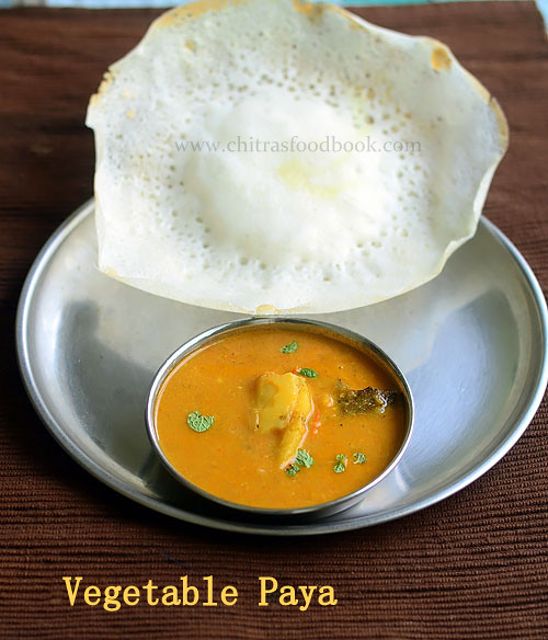 Vegetable paya recipe