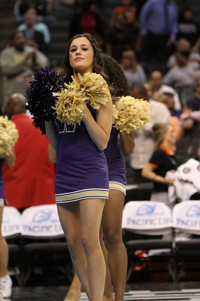 University Of Washington Cheerleader University Of