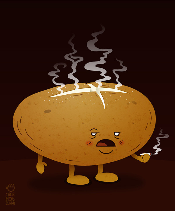 Baked Potato The Second In A Series Of Spud Themed