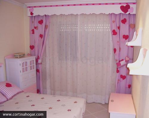 4 infantil y juvenil cortinahogar habitaci n infantil - Cortinas para bebes nina ...