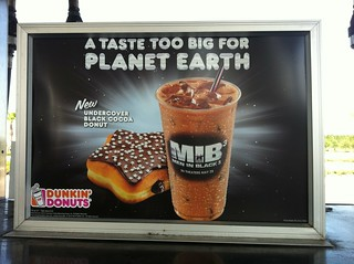 Dunkin' Donuts MIB3 donut and coffee (2012) | by Paxton Holley