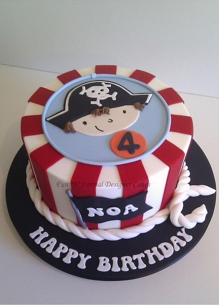 Bakugan Birthday Cake