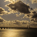 Oresund Bridge Sunset