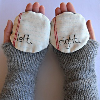 hand warmers - embroidered | by :: Nova