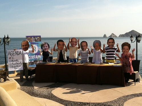 G20 Leaders in Los Cabos, Mexico | by Oxfam International