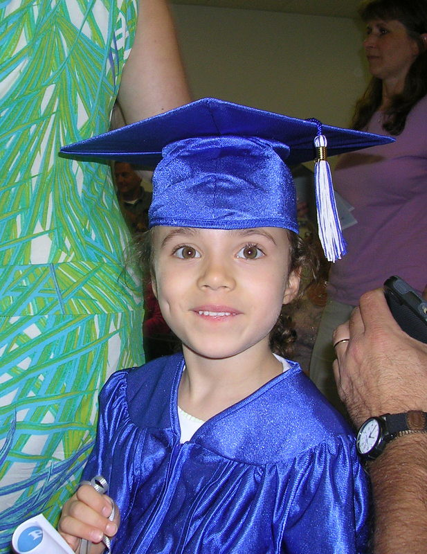 lia holding her diploma from preschool graduation it was a flickr. Black Bedroom Furniture Sets. Home Design Ideas