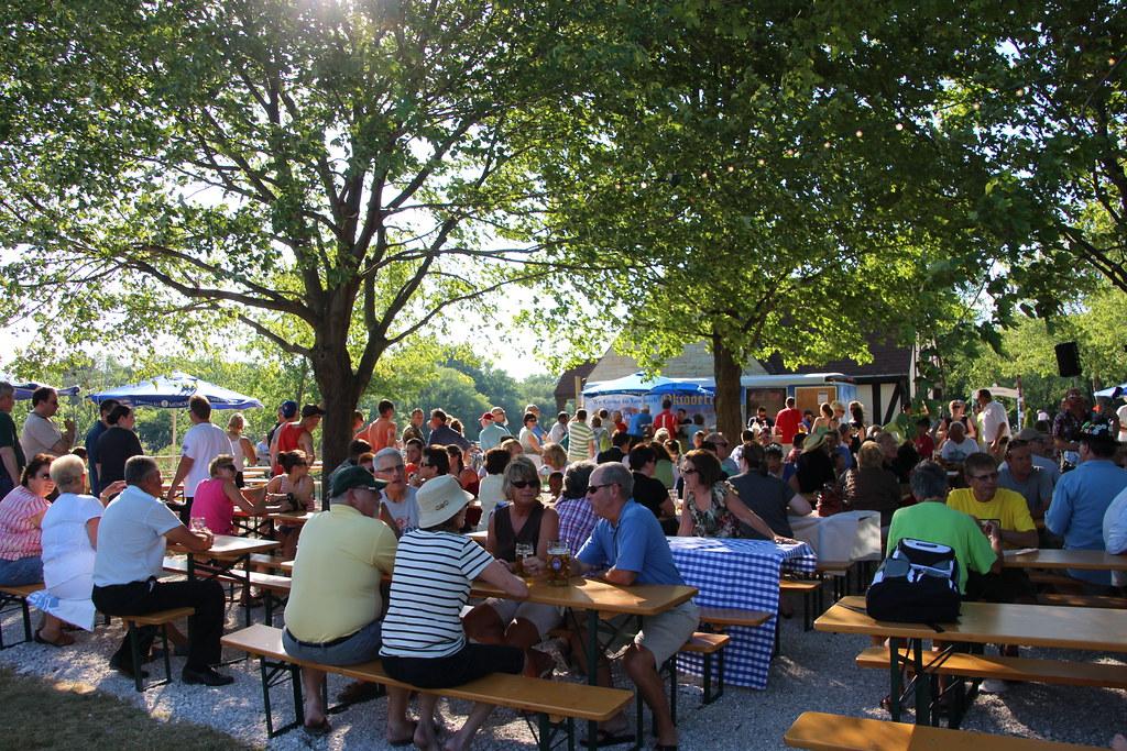 Estabrook Beer Garden Opens | Estabrook Beer Garden Grand Op… | Flickr