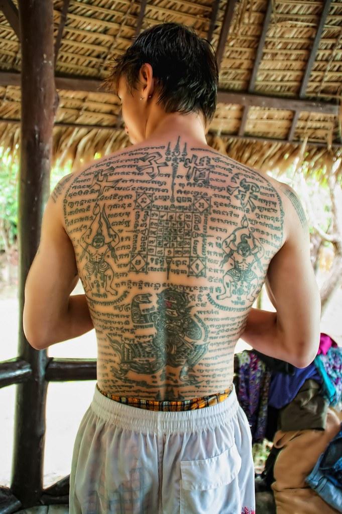 Sak Yant Tattoo Thailand | Thailand / Krabi / Khao Phra Bang… | Flickr