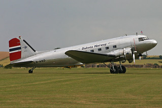 Douglas C-53D Dakota 'LN-WND' Dakota Norway | by Hawkeye UK
