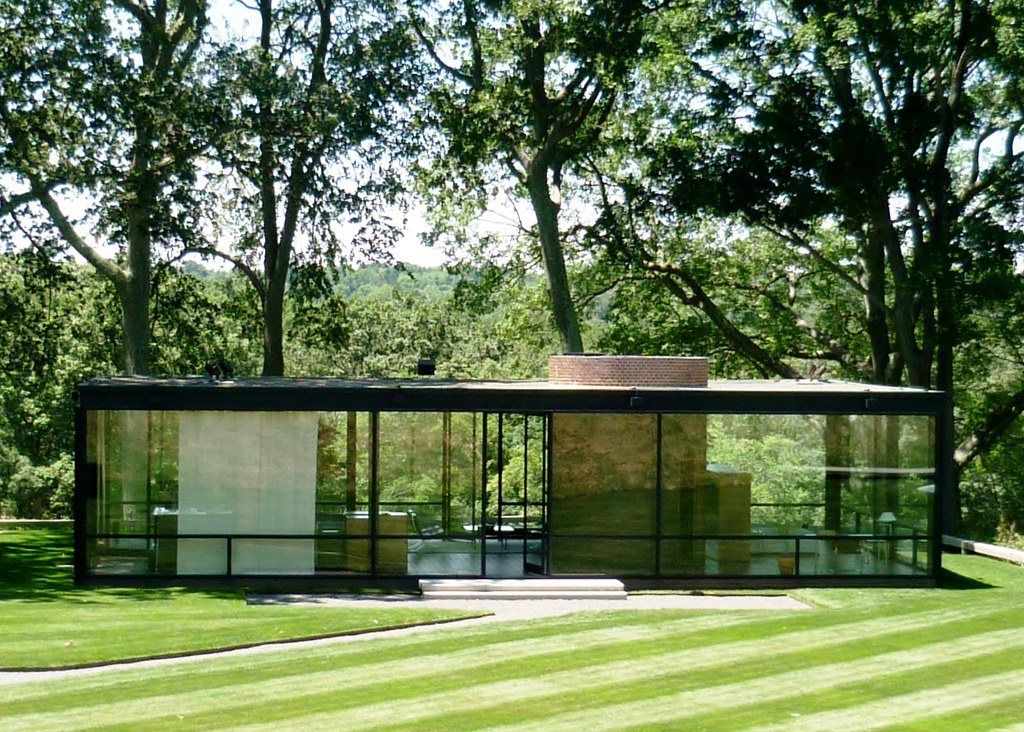 philip johnson glass house jun2012 view 3 mark b schlemmer flickr. Black Bedroom Furniture Sets. Home Design Ideas
