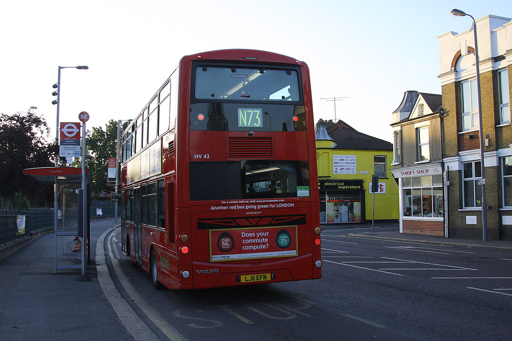 Arriva London Hv42 N73 Forest Road Walthamstow Here Is