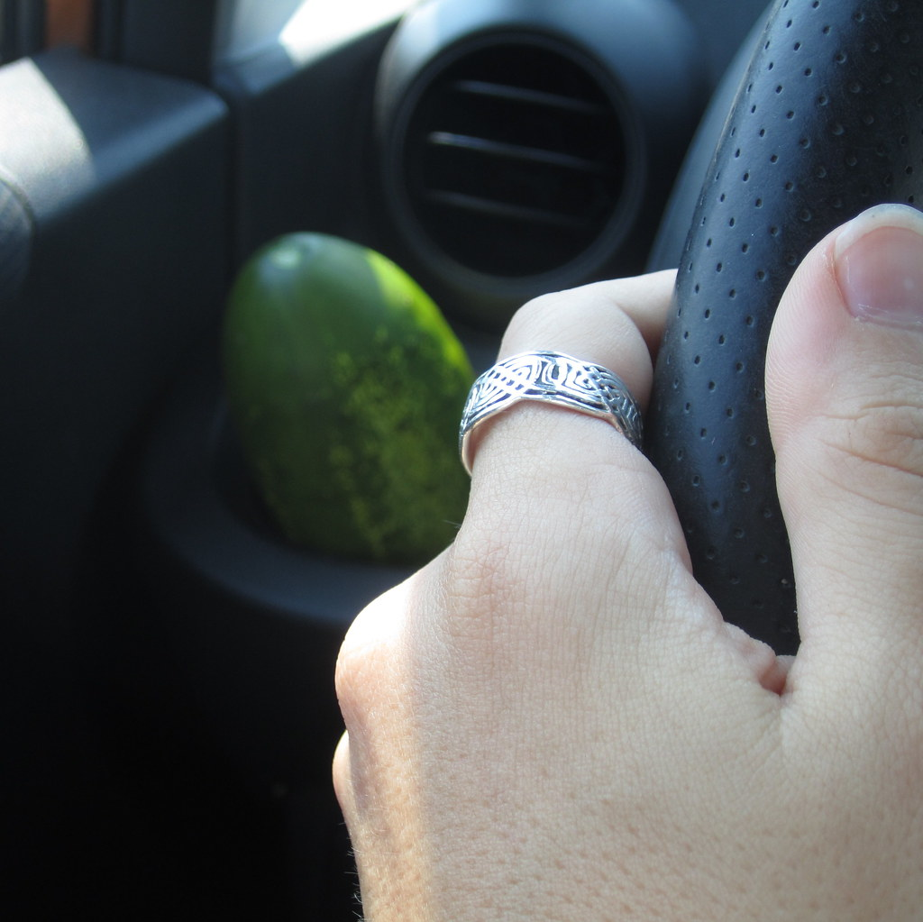 My Car Has A Cucumber Holder Perfect For The