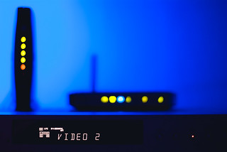 Day 176 - Home Entertainment Bokeh | by dennisdasfoto