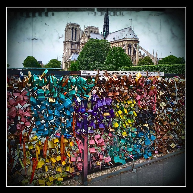 Cadenas d 39 amour pont de l 39 archev ch paris flickr photo sharing - Le pont de lamour a paris ...