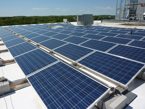8 Cabot Rd. roof solar panels | by Cummings Properties