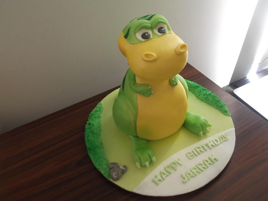 TRex cake amanda baillie Flickr