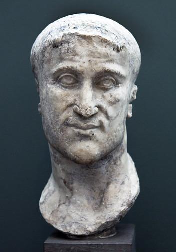 Constantius Chlorus Ncg 836 Roman Marble Portrait Of