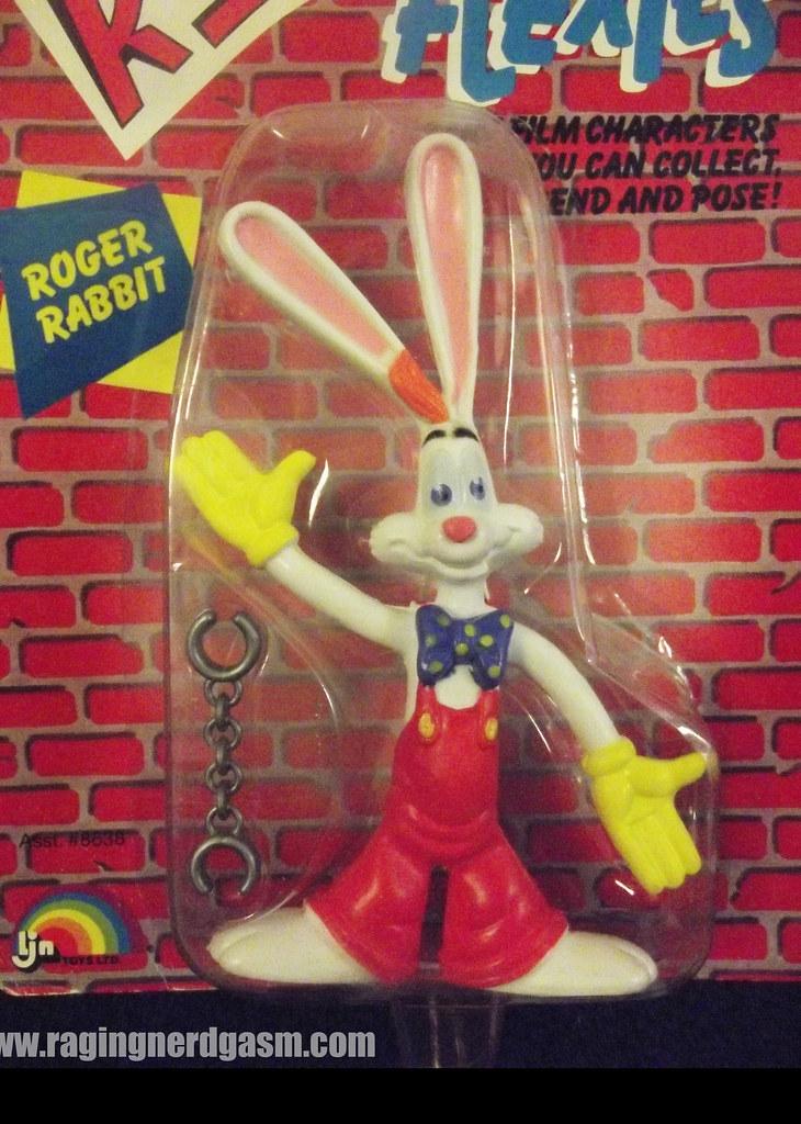 Roger Rabbit from Who Framed Roger Rabbit Bendy Toys by LJ… | Flickr