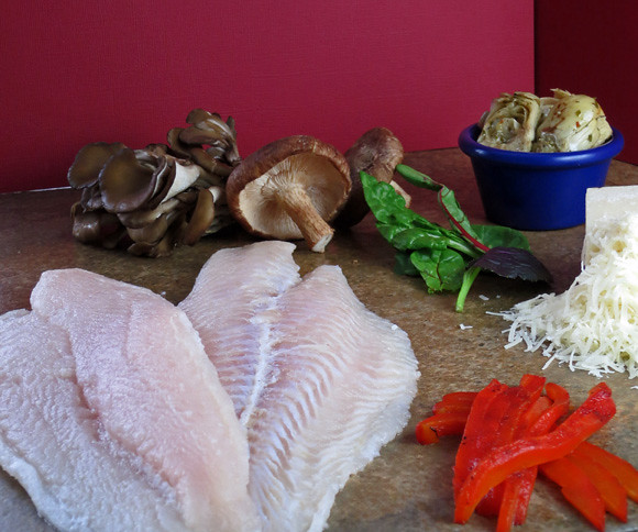 Swai parmesan ingredients raw fillets of swai fish by for Is swai fish good