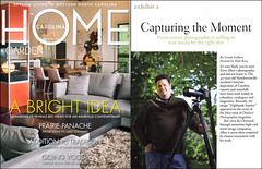carolina home and garden magazine article page 1 by dave allen photography. Interior Design Ideas. Home Design Ideas