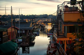 Lake Union Summer Sunset 1 (Explore 7/21 2012) | by Pedalhead'71