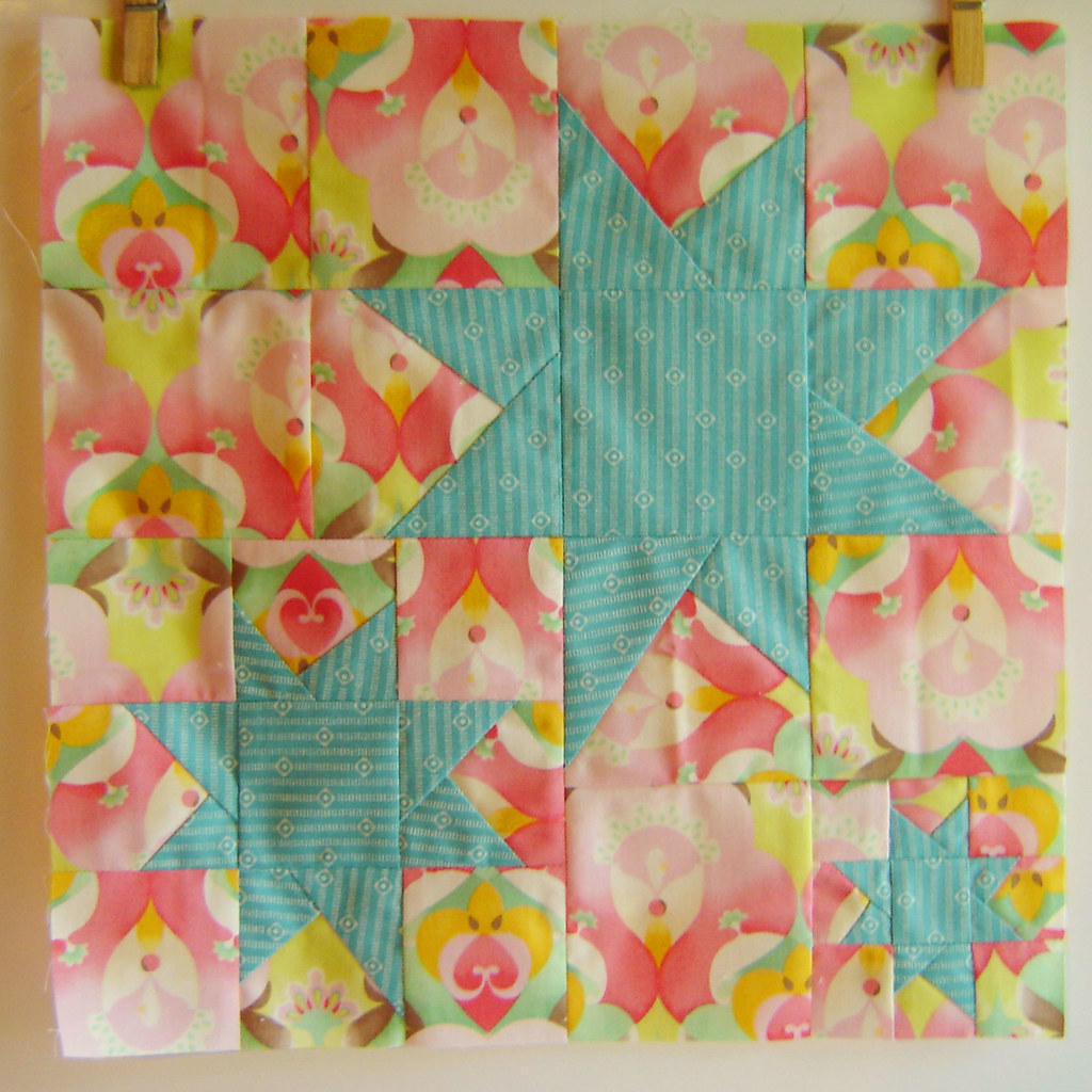 Stargazing Quilt Block Stargazing Quilt Block From The