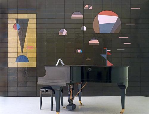 Le salon de musique de v kandinsky mamc strasbourg flickr - Salon de la musique strasbourg ...