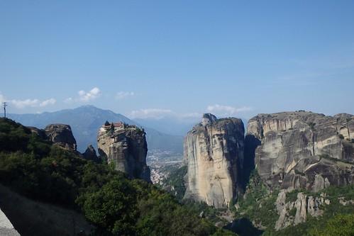 Vista di Meteora - Grecia