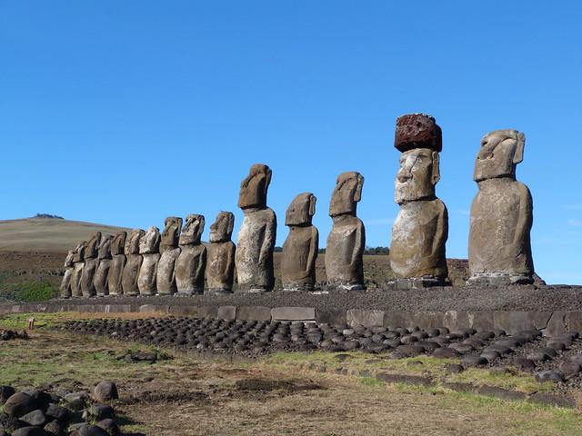 Ahu Tongariki (Isla de Pascua, Chile)