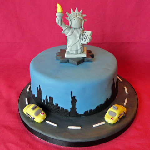 New york cake new york cake for a hen party the liberty