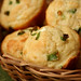 goat cheese scallion muffins 4