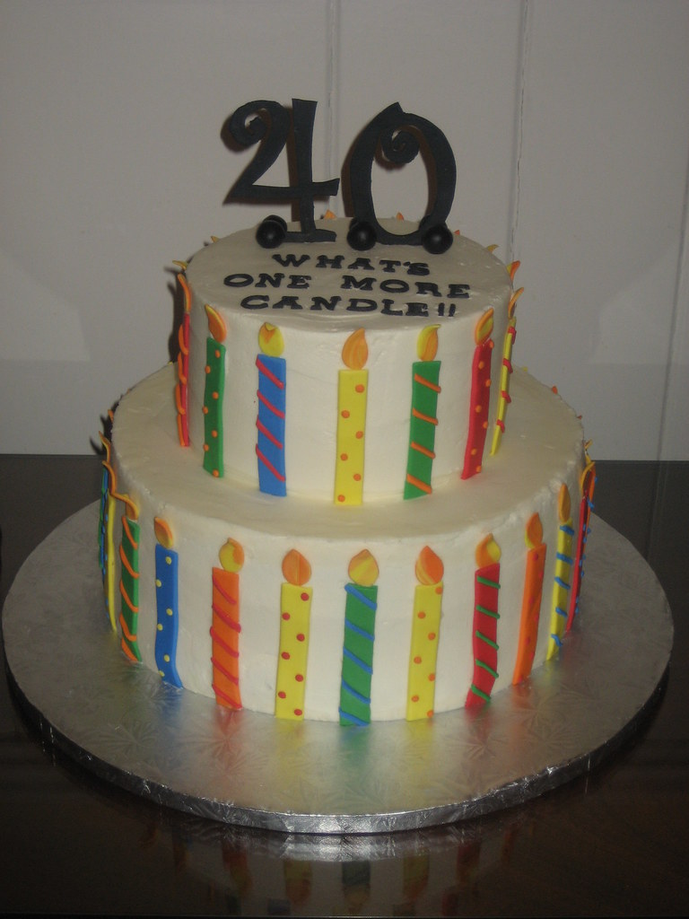 Kevin s 40th Birthday Buttercream cake decorated with ...