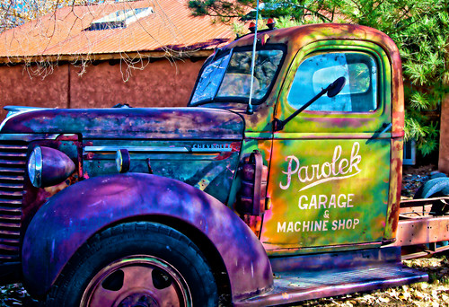 Old Chevy pickup | by Santa Fe -- Taos Fine Art Photography