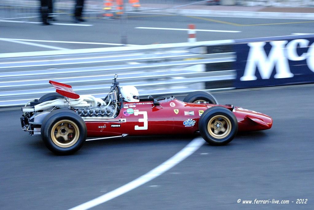 F1 Ferrari 312 1969 ex Chris Amon - Monaco GP Historique 2… | Flickr