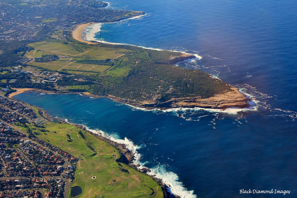 Maroubra Beach Long Bay Mallabar South Eastern Sydney Nsw By Black