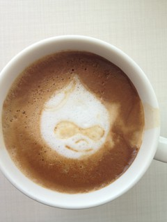 Today's latte, Drupal. | by yukop