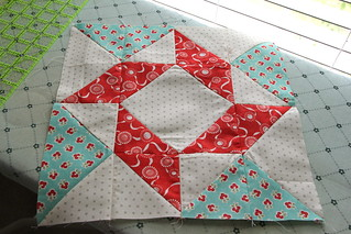 Fat Quarter Shop Designer Mystery Block of the Month - Block 1 | by JenniferLGB