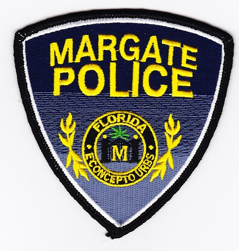Fl Margate Police Department Patch For Waubonsee